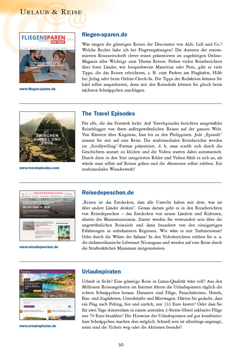 Urlaub & Reise - Seite 30