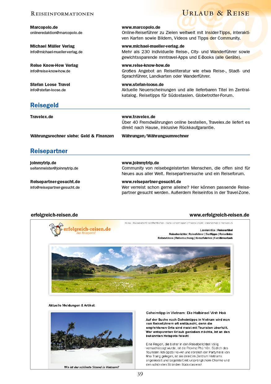 Urlaub & Reise - Seite 39
