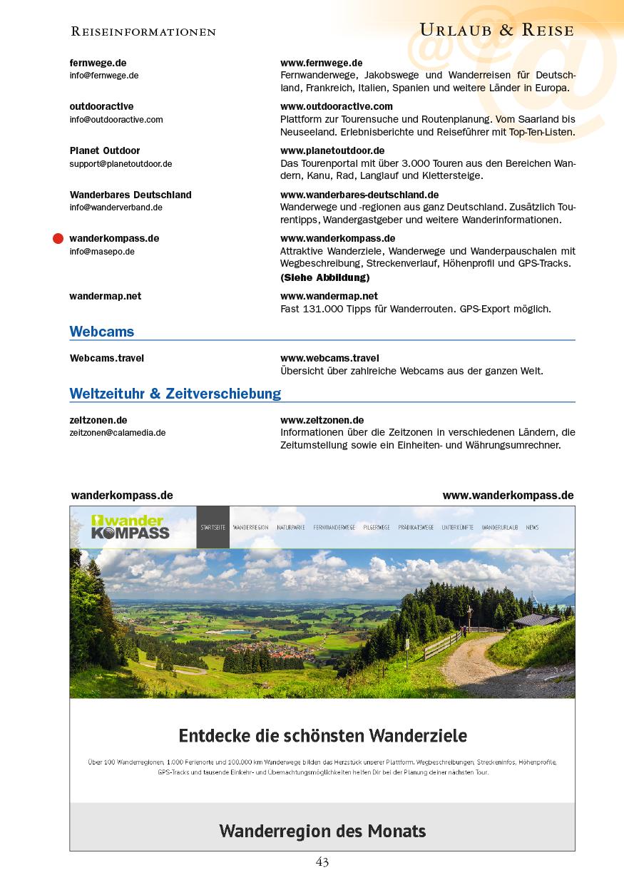 Urlaub & Reise - Seite 43
