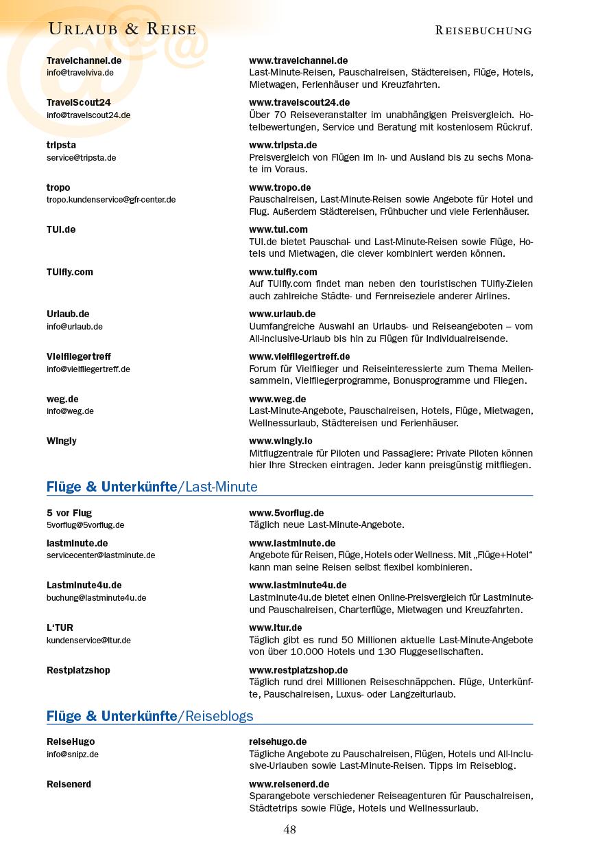 Urlaub & Reise - Seite 48