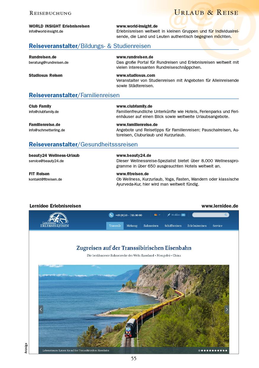 Urlaub & Reise - Seite 55