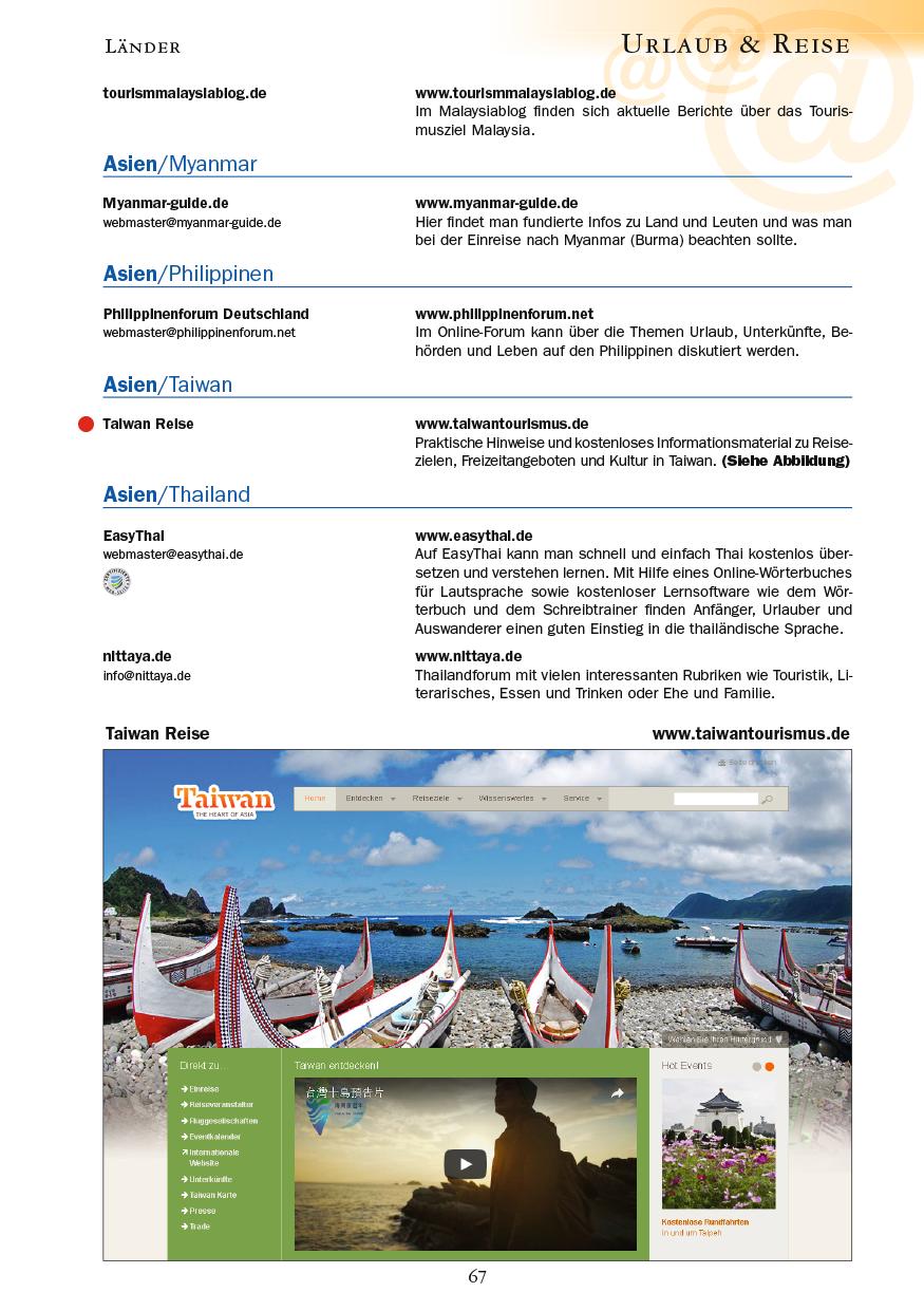 Urlaub & Reise - Seite 67