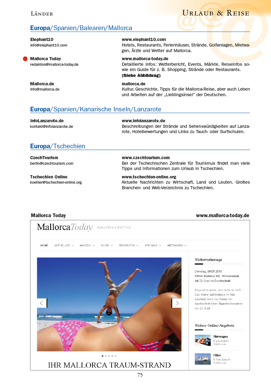 Urlaub & Reise - Seite 75
