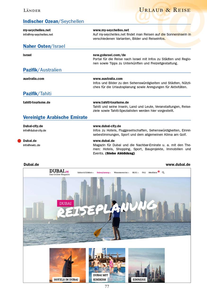 Urlaub & Reise - Seite 77