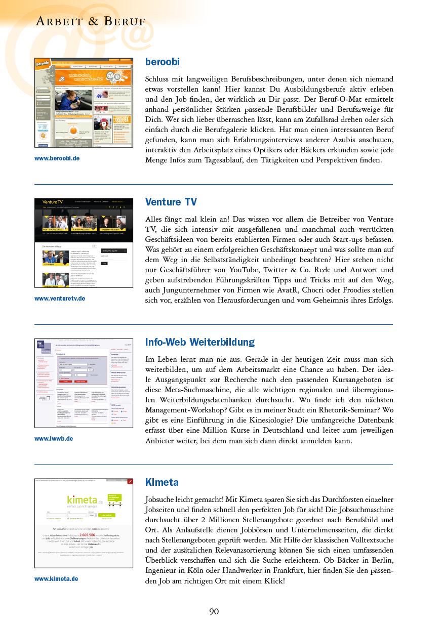 Arbeit & Beruf - Seite 90