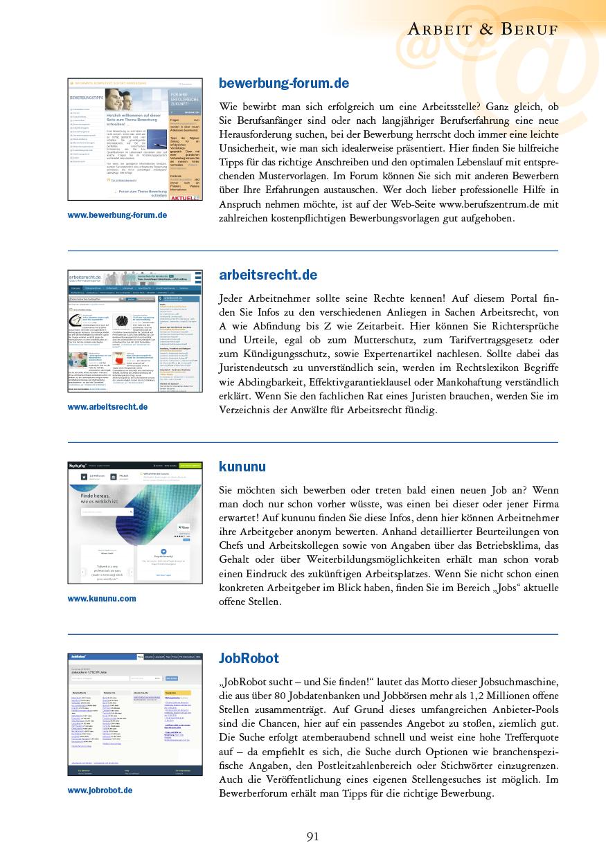 Arbeit & Beruf - Seite 91