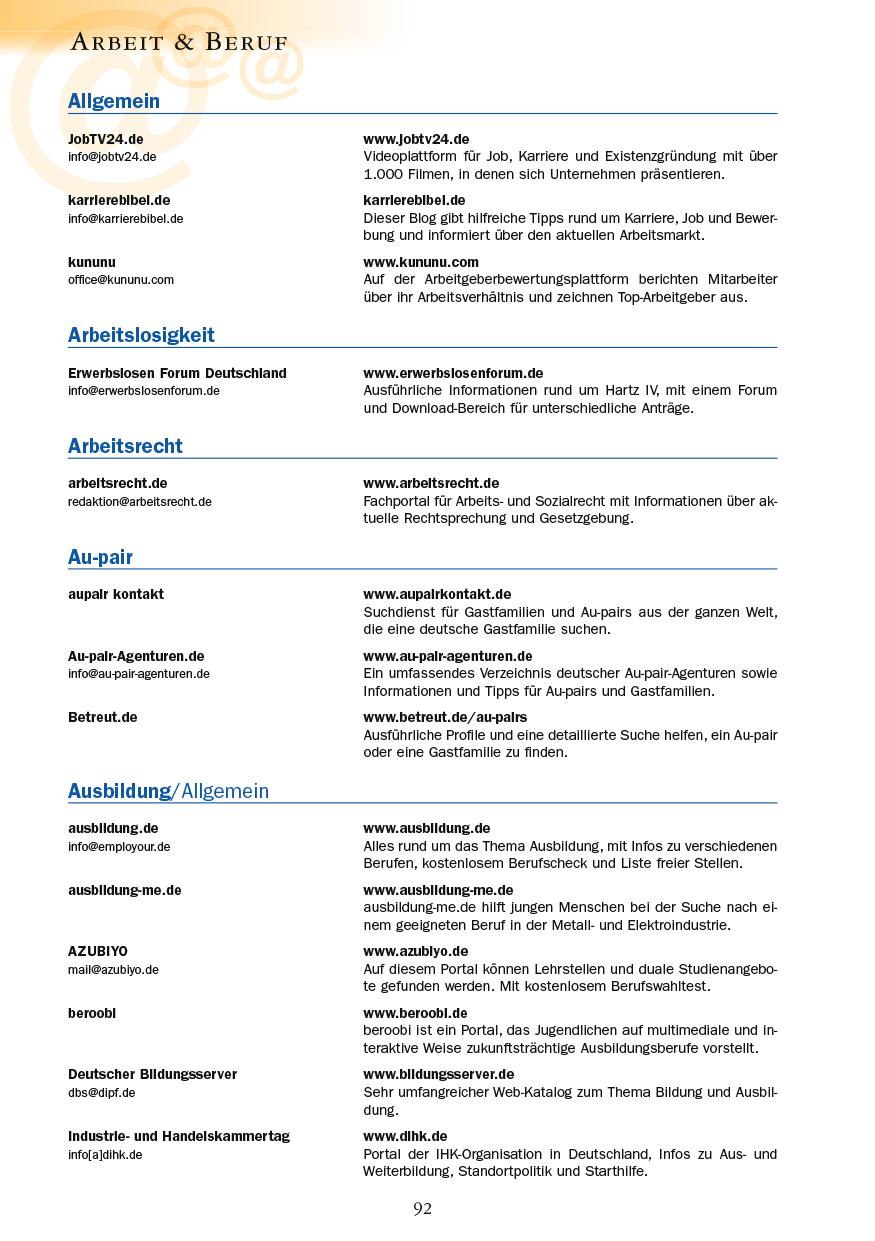Arbeit & Beruf - Seite 92