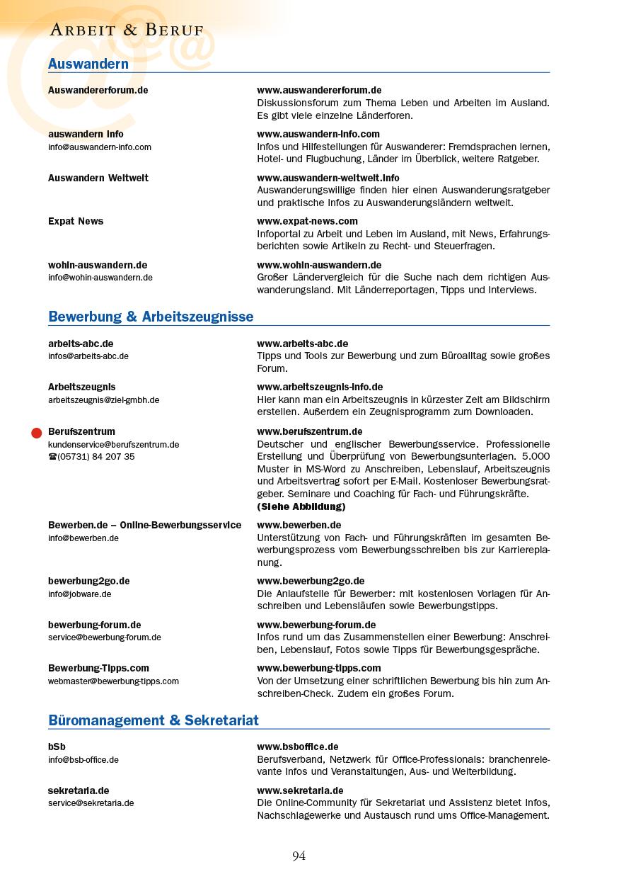 Arbeit & Beruf - Seite 94