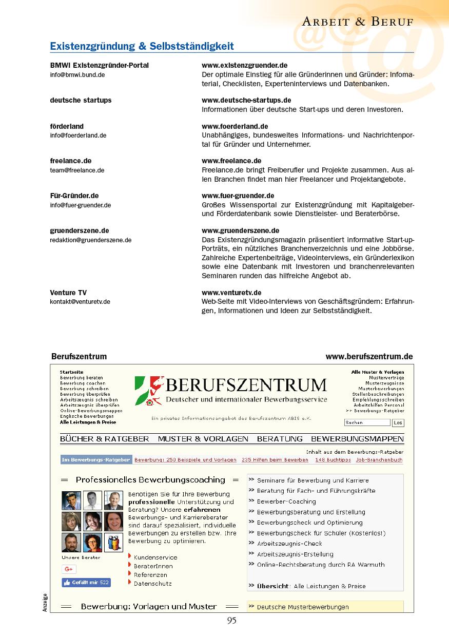 Arbeit & Beruf - Seite 95
