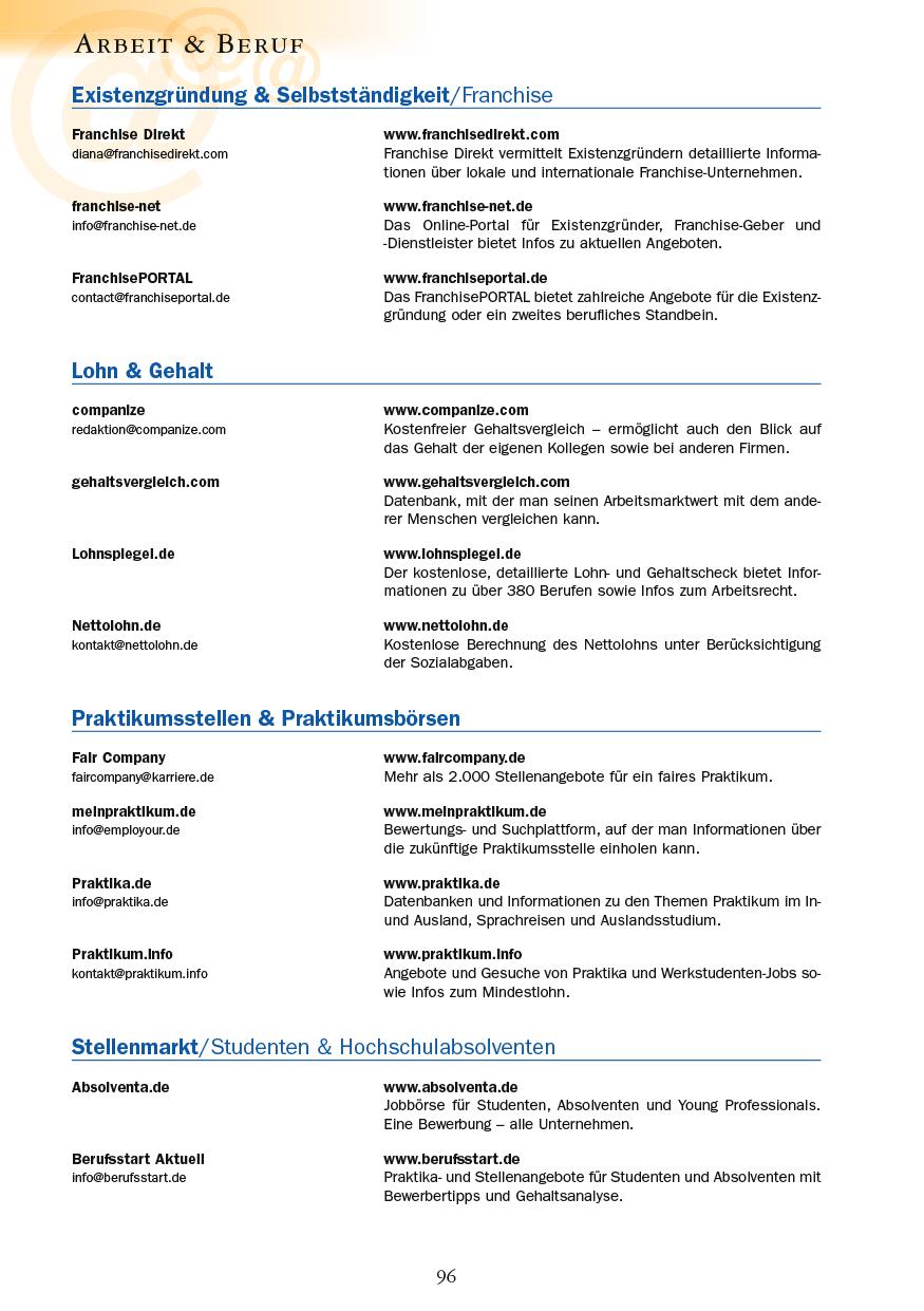 Arbeit & Beruf - Seite 96