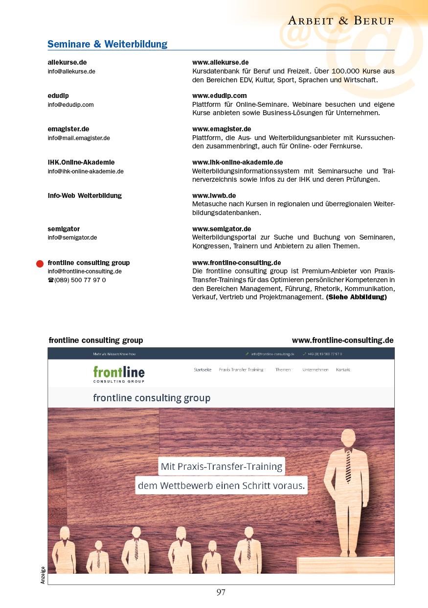 Arbeit & Beruf - Seite 97