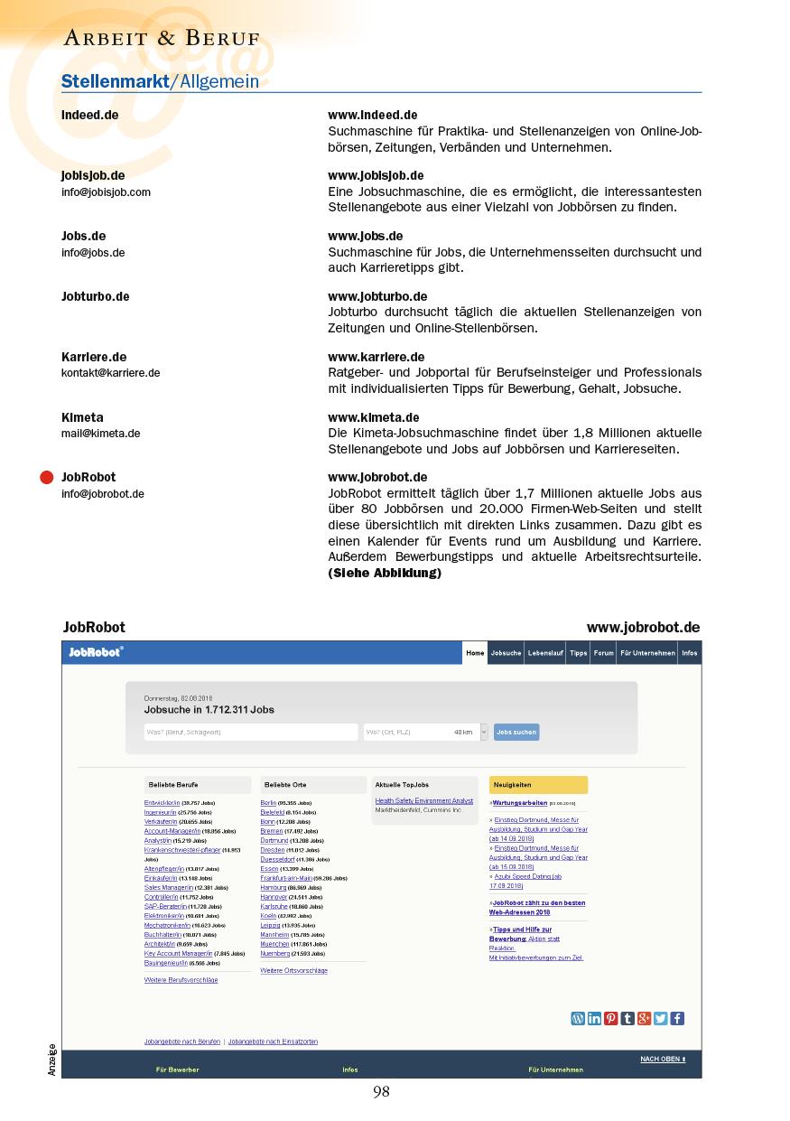 Arbeit & Beruf - Seite 98