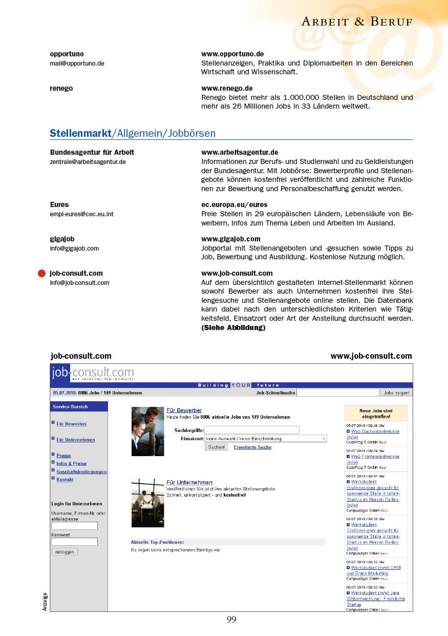 Arbeit & Beruf - Seite 99