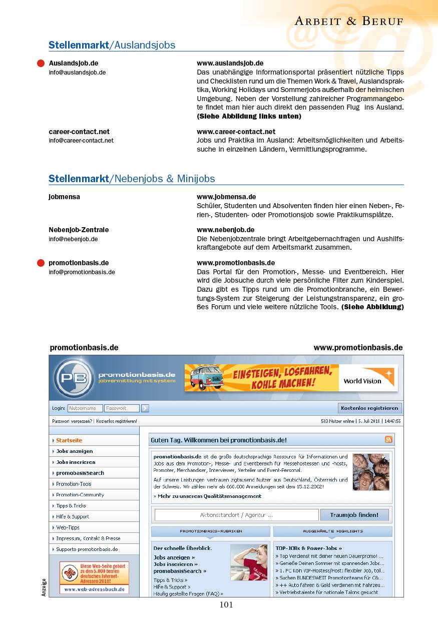 Arbeit & Beruf - Seite 101