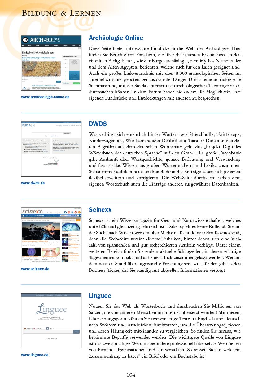 Bildung & Lernen - Seite 104