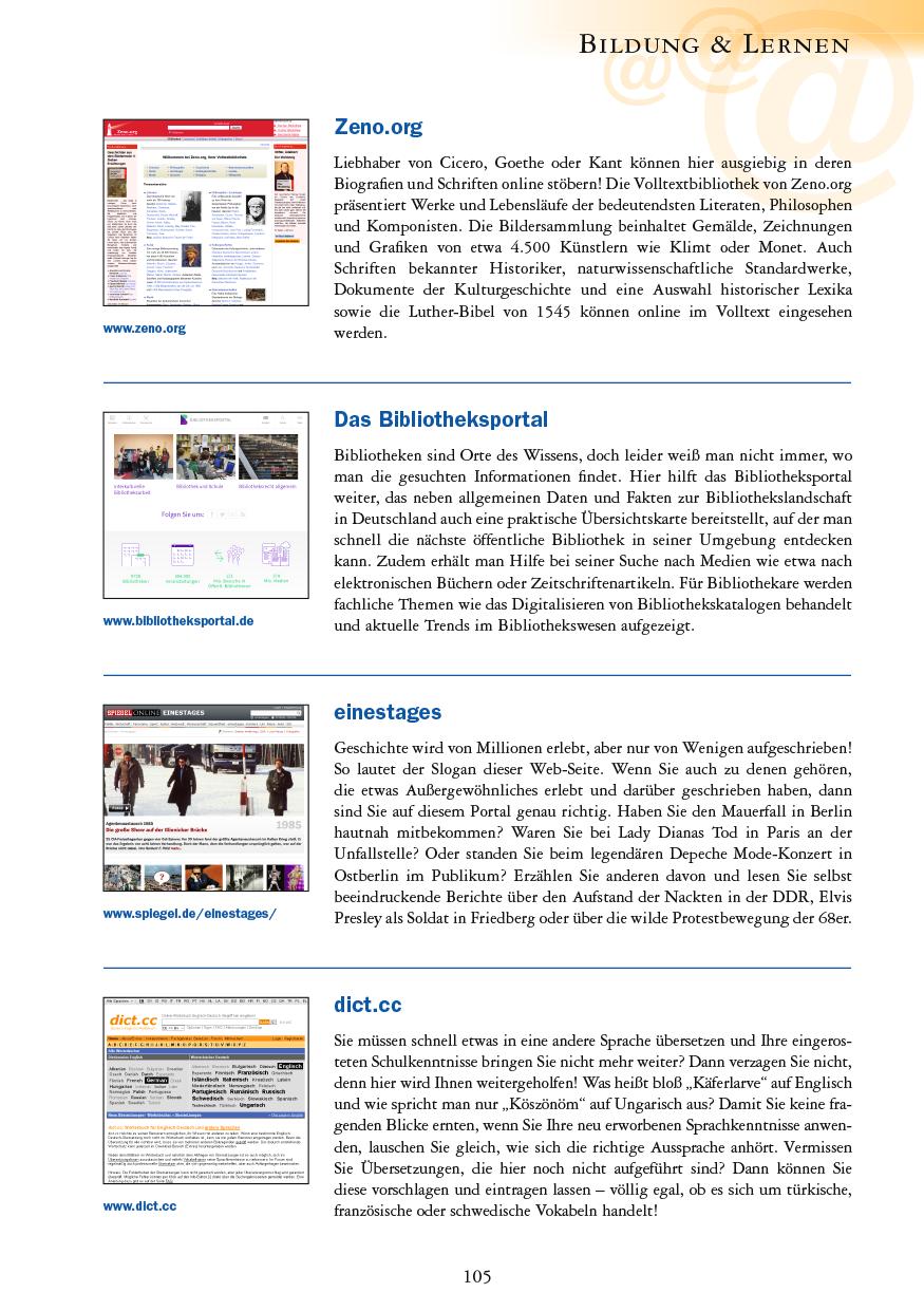 Bildung & Lernen - Seite 105