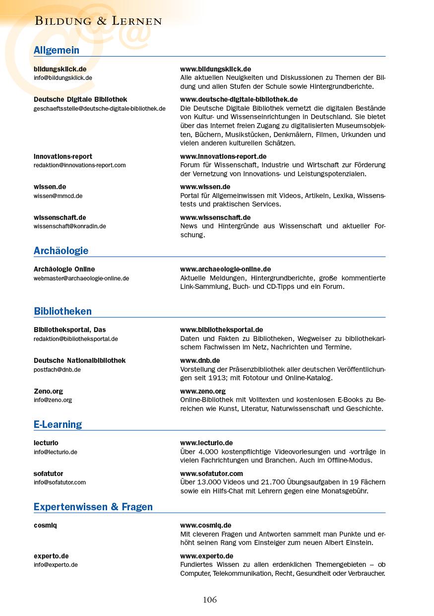 Bildung & Lernen - Seite 106