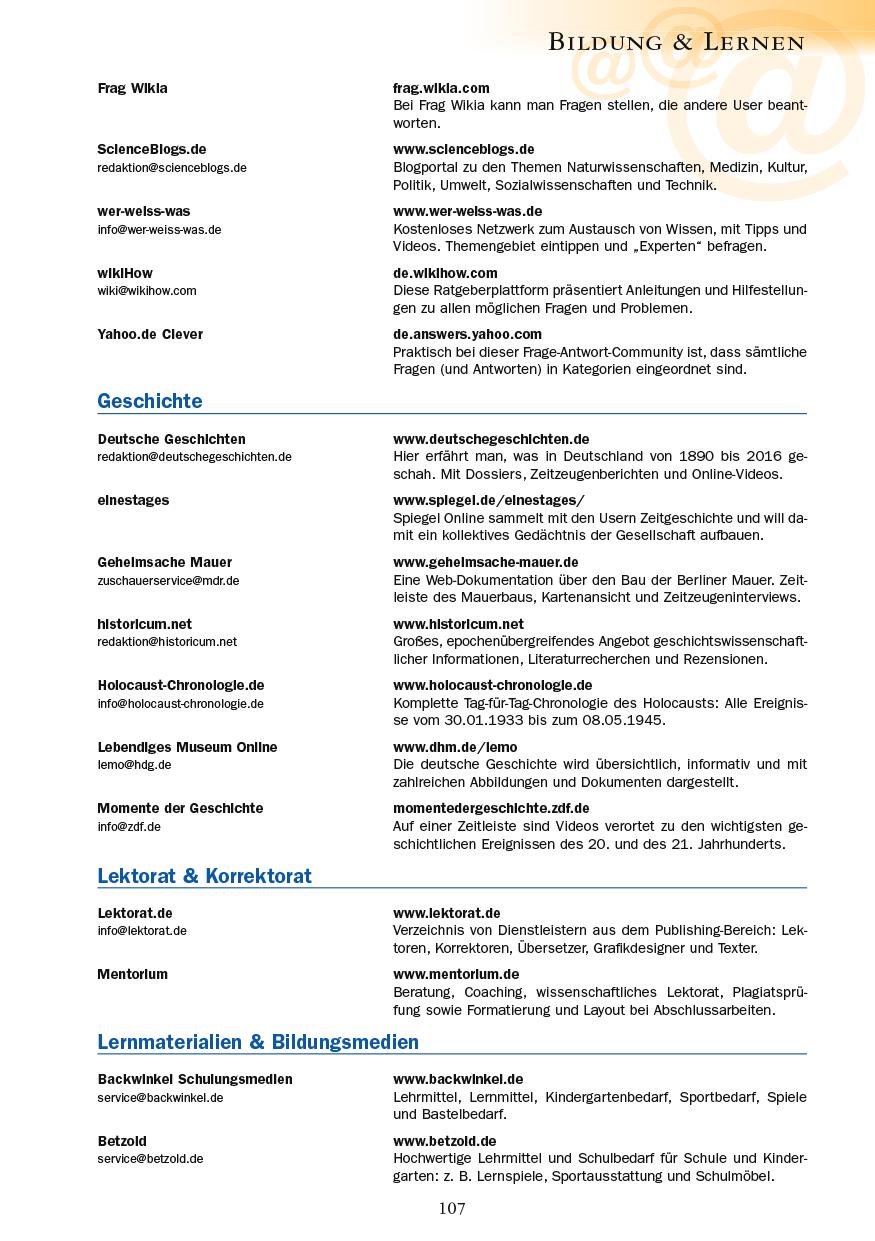 Bildung & Lernen - Seite 107