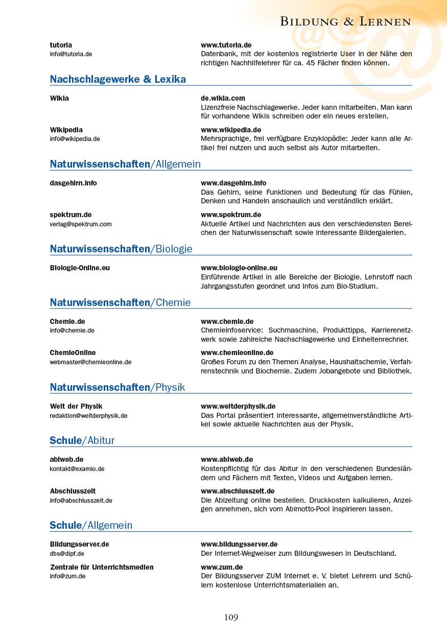 Bildung & Lernen - Seite 109