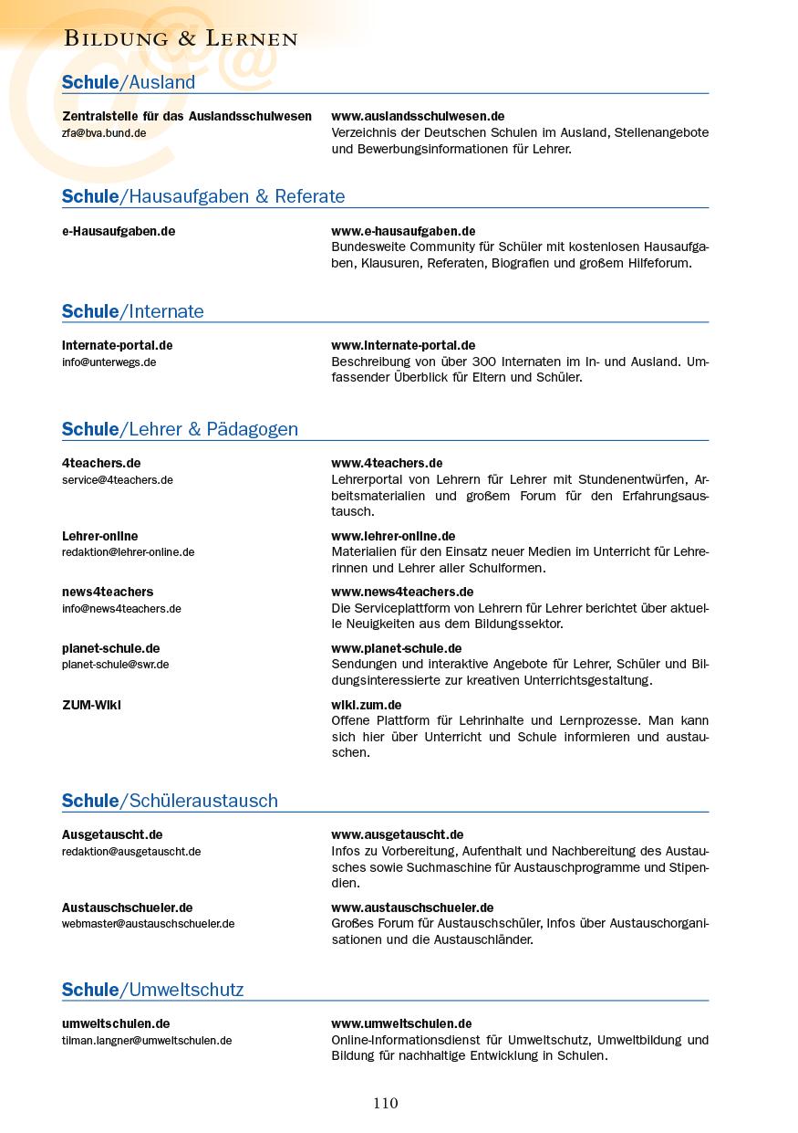 Bildung & Lernen - Seite 110