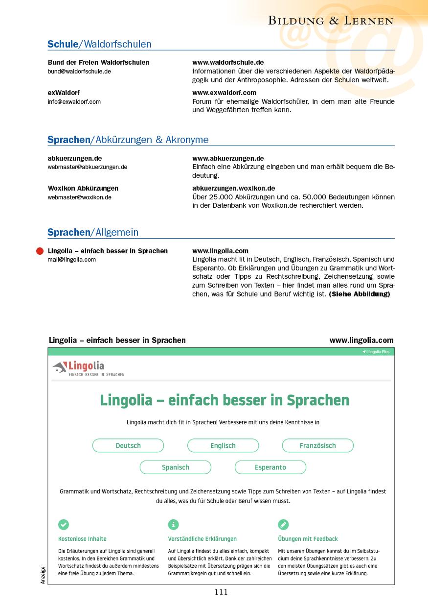 Bildung & Lernen - Seite 111