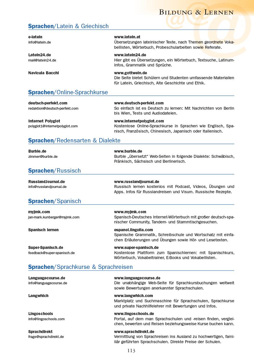 Bildung & Lernen - Seite 113