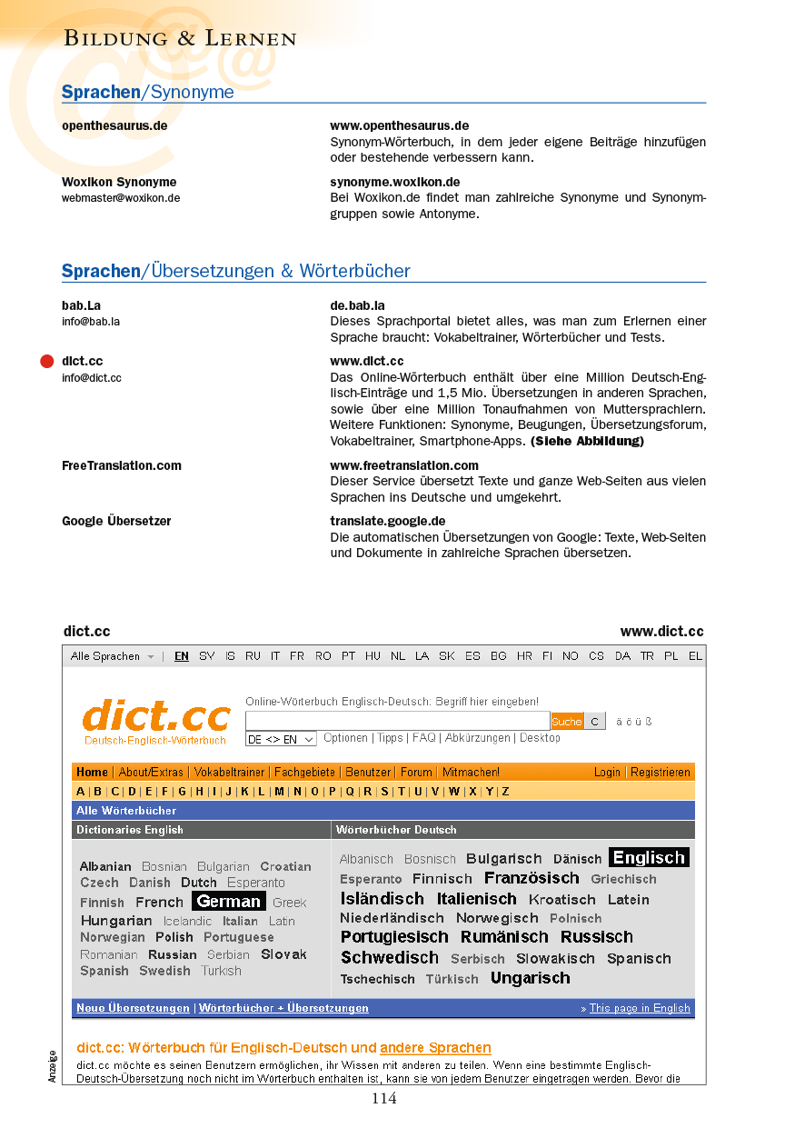 Bildung & Lernen - Seite 114