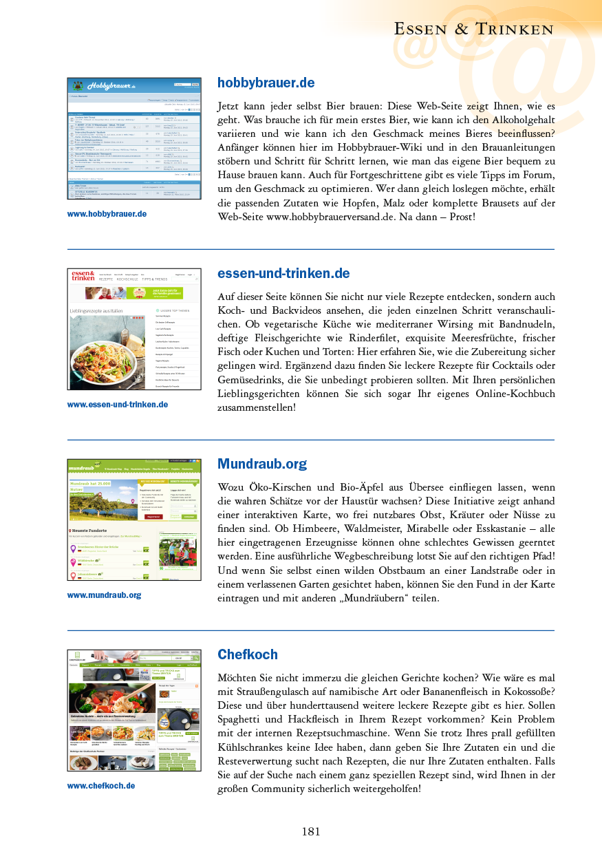 Essen & Trinken - Seite 181