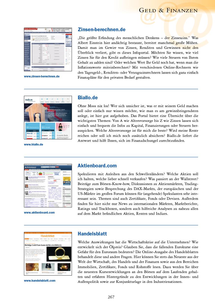 Geld & Finanzen - Seite 267