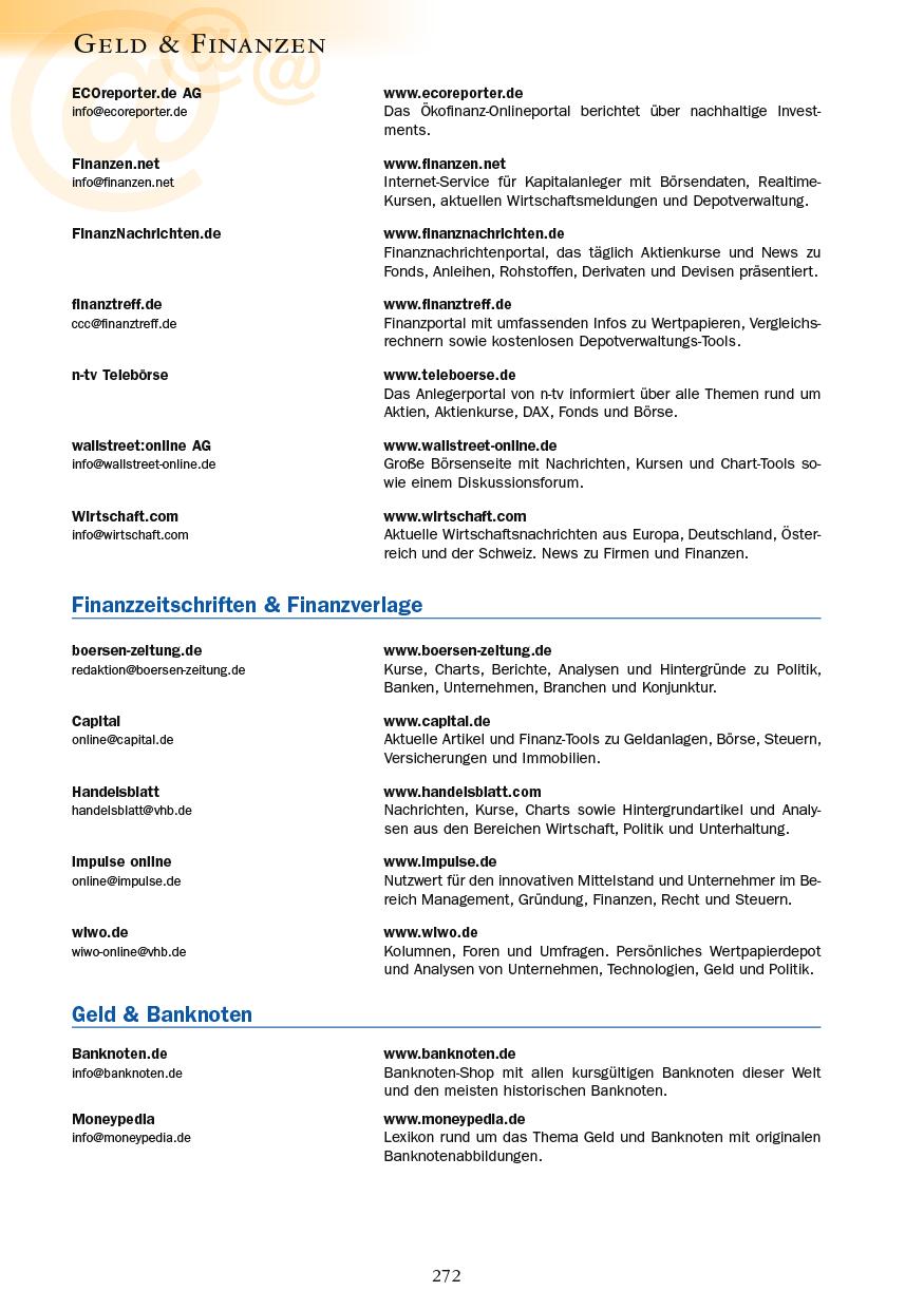 Geld & Finanzen - Seite 272