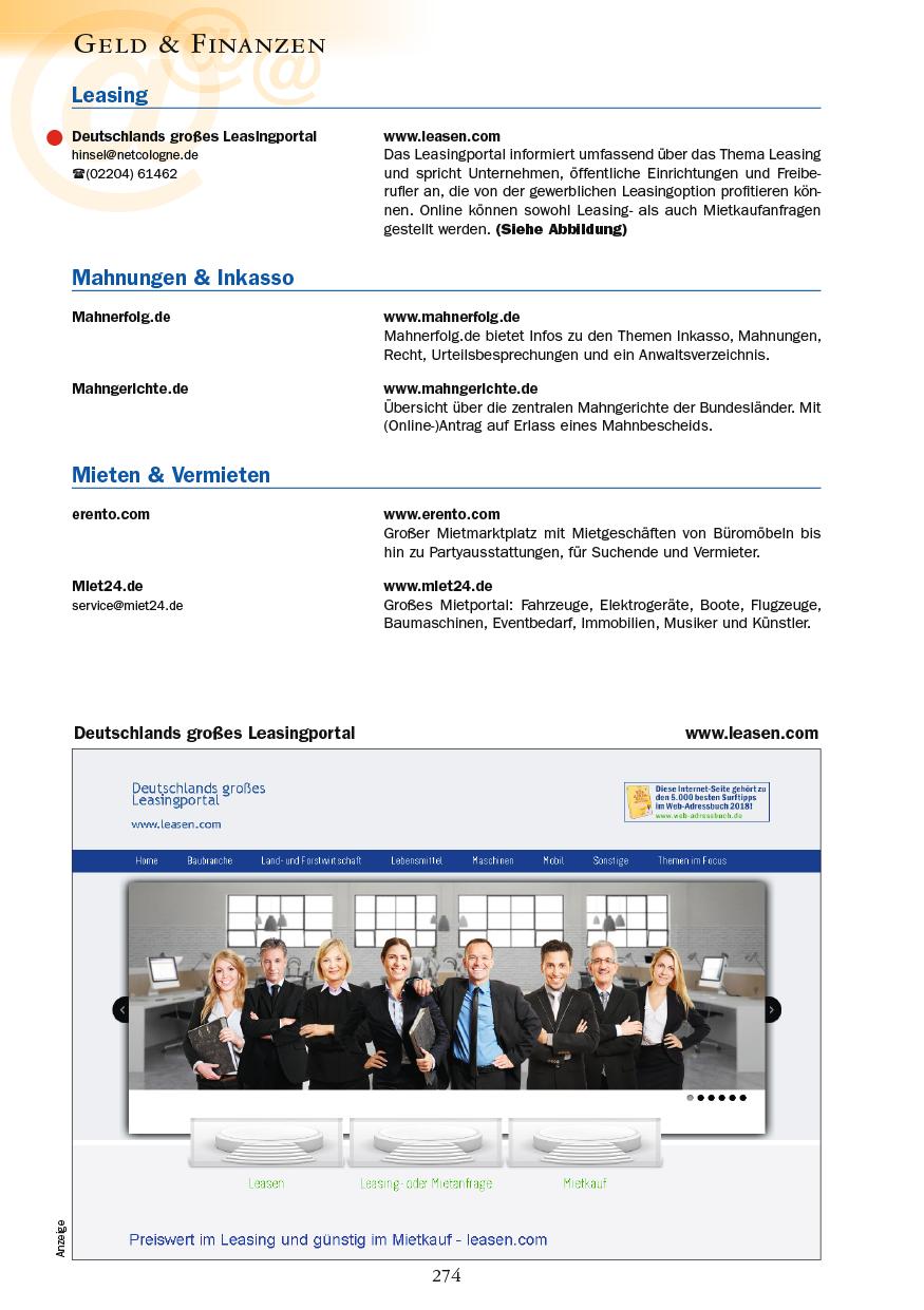 Geld & Finanzen - Seite 274