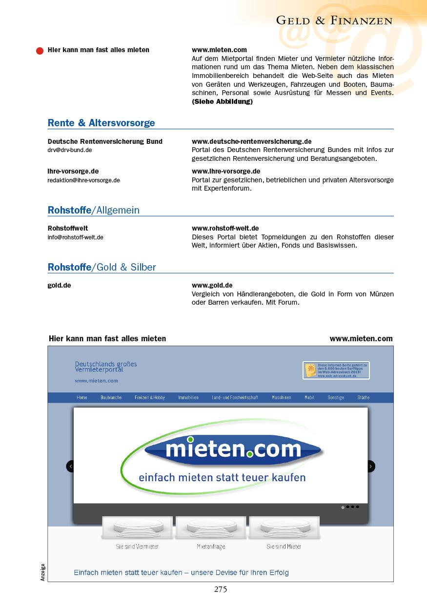 Geld & Finanzen - Seite 275