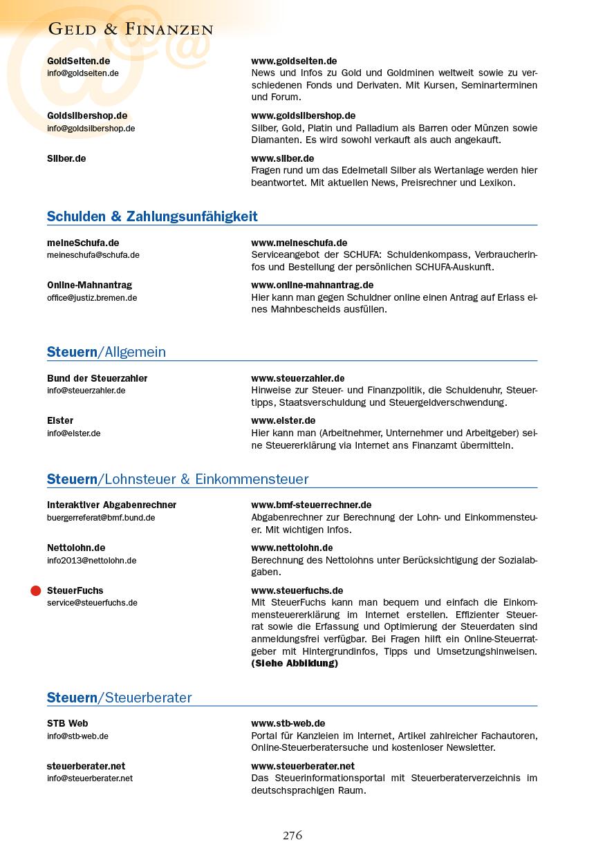 Geld & Finanzen - Seite 276