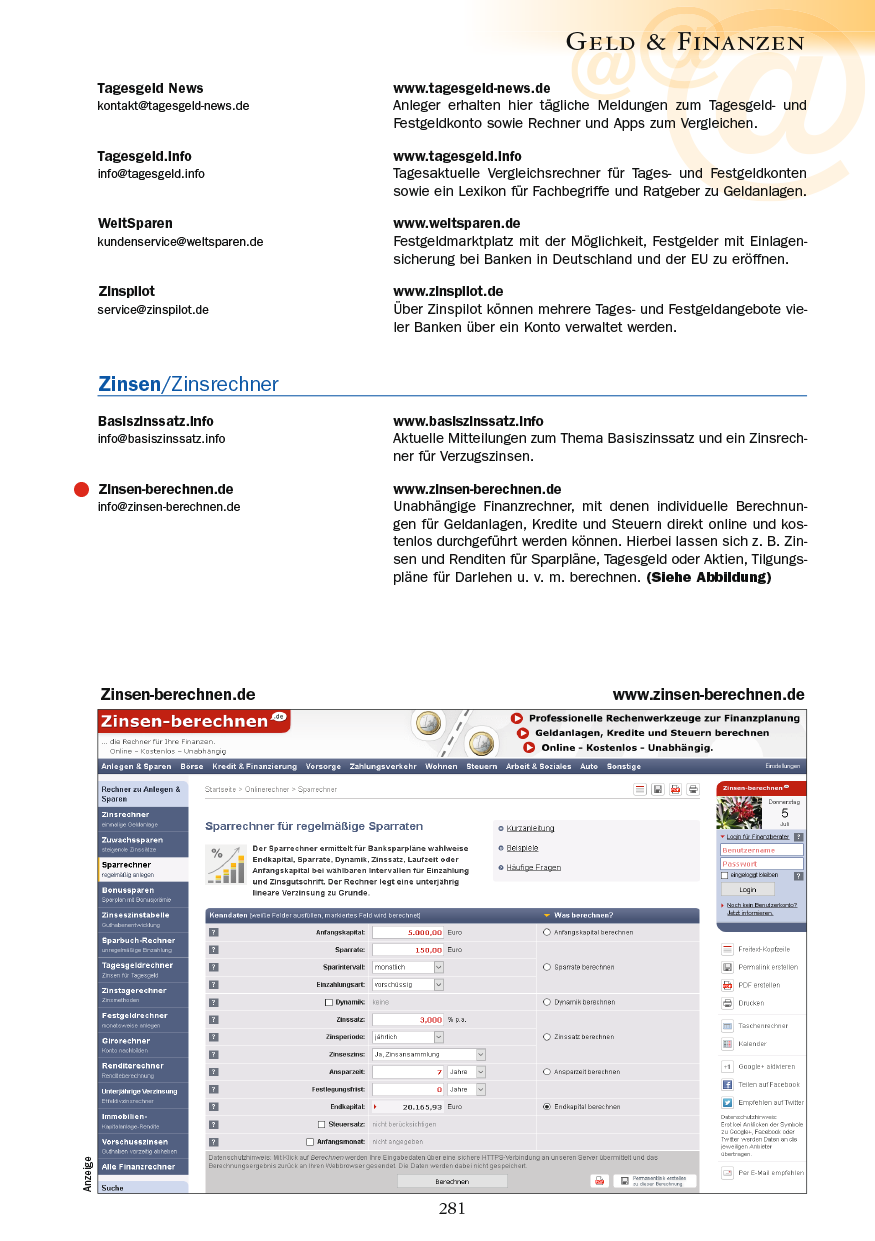 Geld & Finanzen - Seite 281