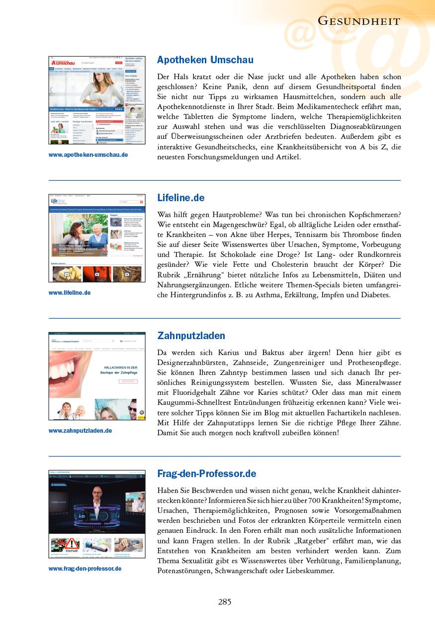 Gesundheit - Seite 285