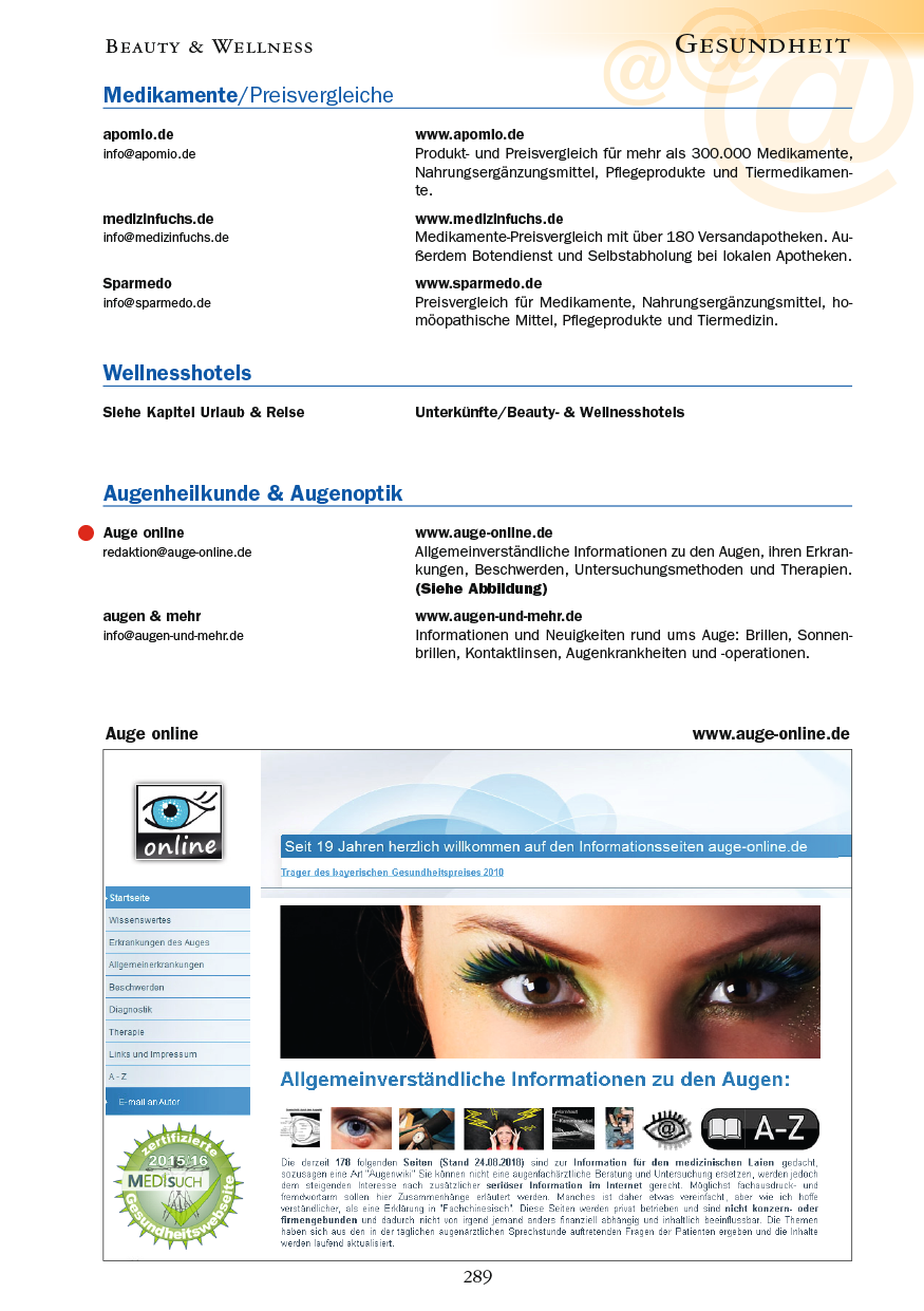 Gesundheit - Seite 289