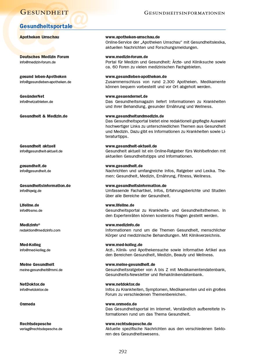 Gesundheit - Seite 292