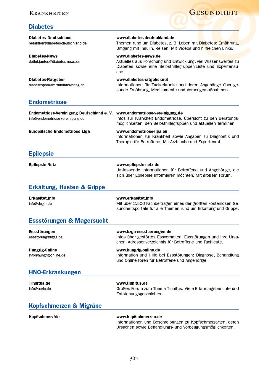 Gesundheit - Seite 305