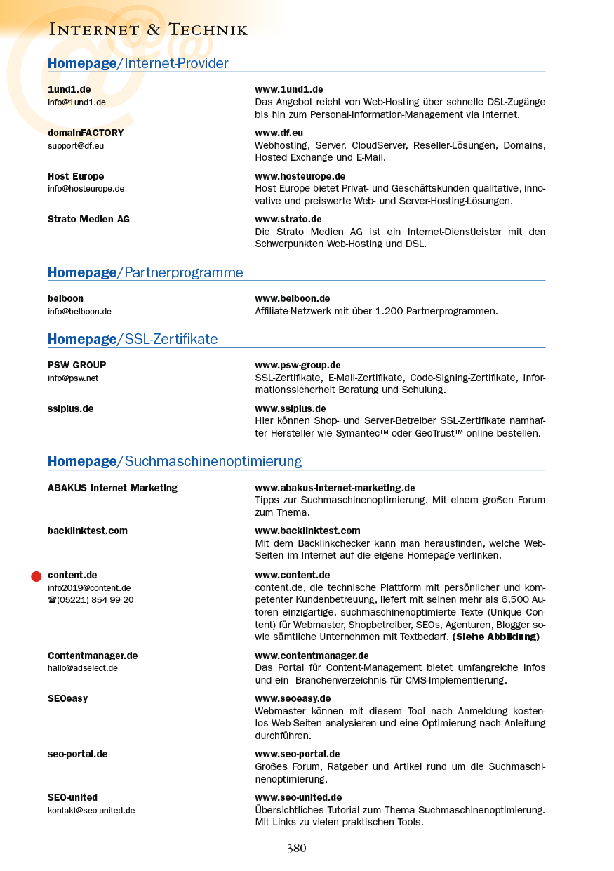 Internet & Technik - Seite 380