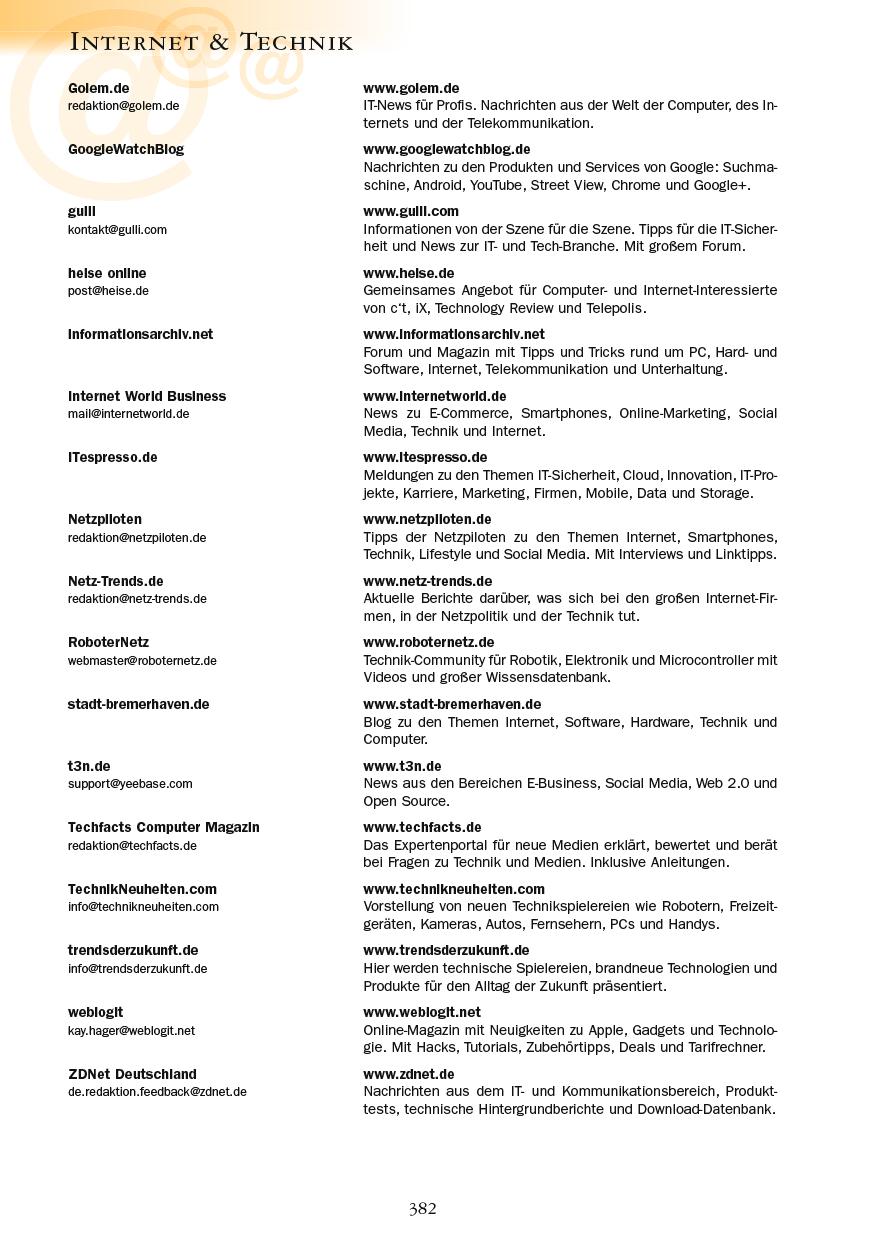Internet & Technik - Seite 382