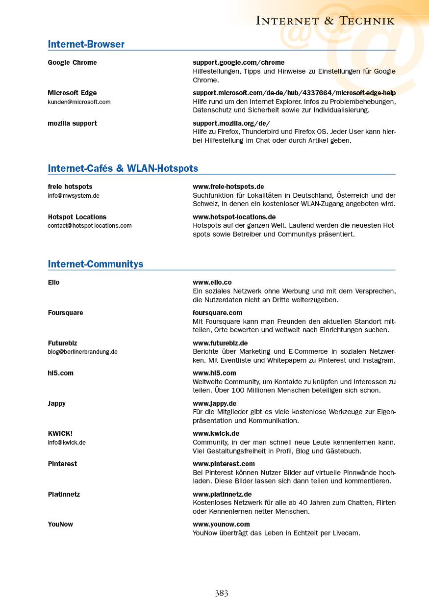 Internet & Technik - Seite 383