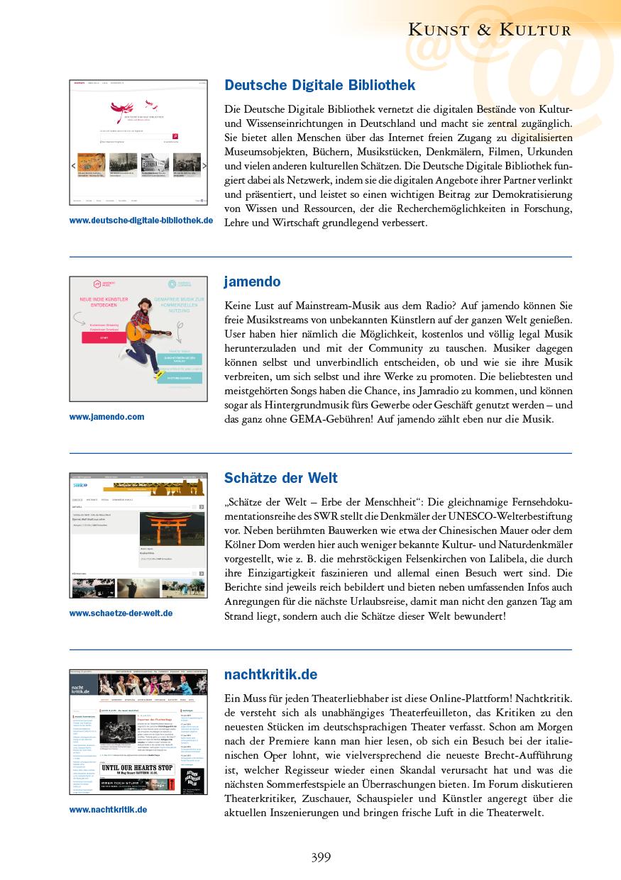 Kunst & Kultur - Seite 399