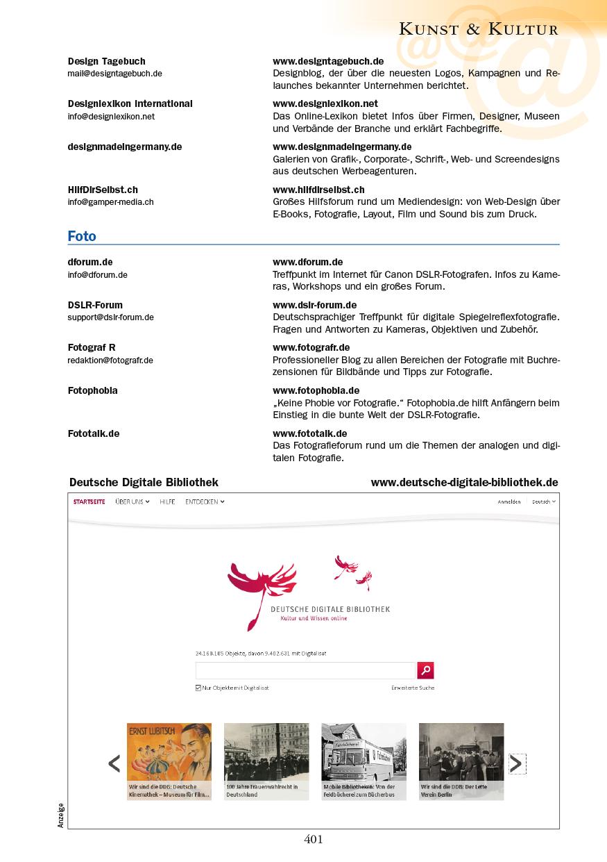 Kunst & Kultur - Seite 401