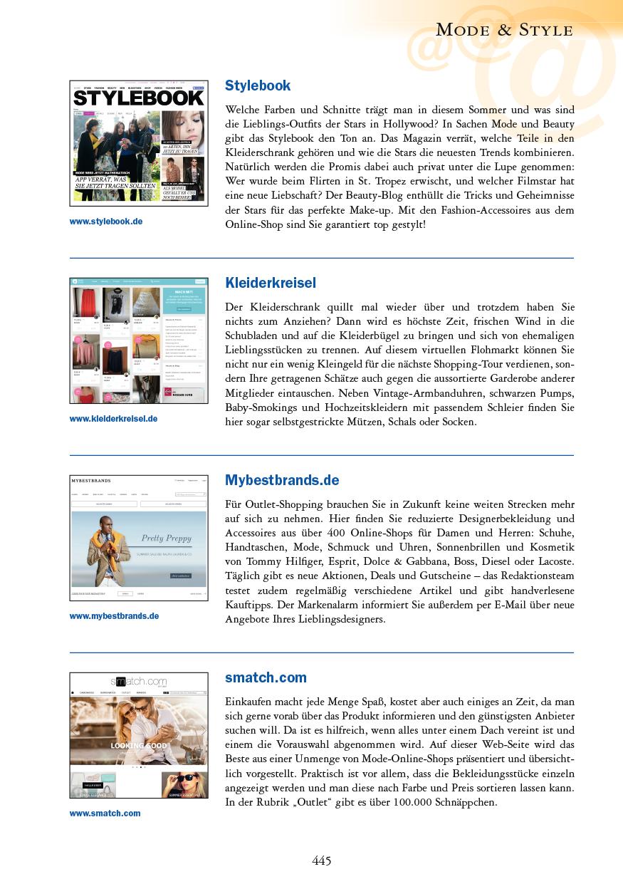 Mode & Style - Seite 445