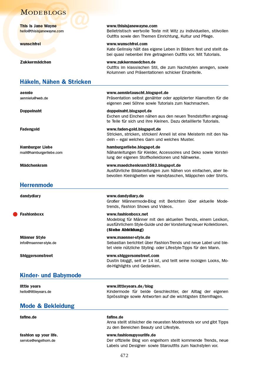 Modeblogs - Seite 472