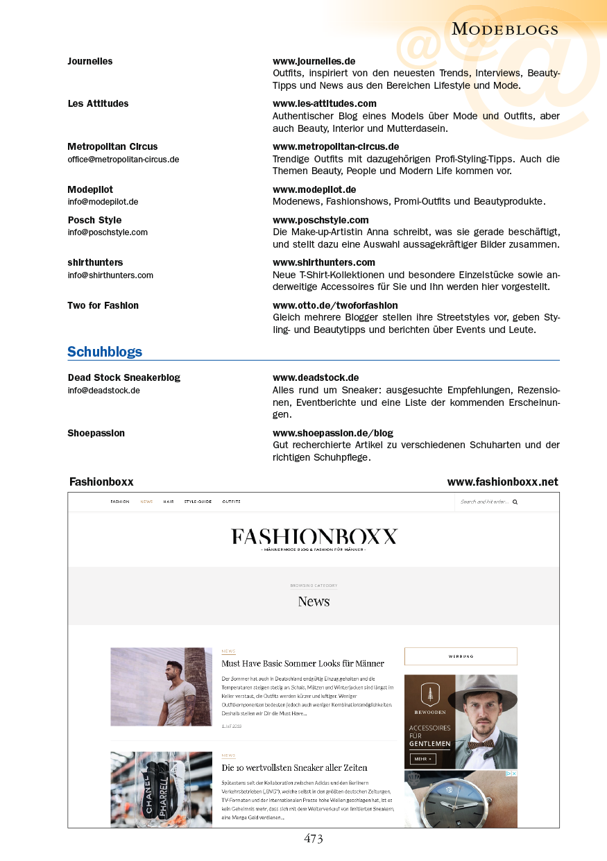 Modeblogs - Seite 473