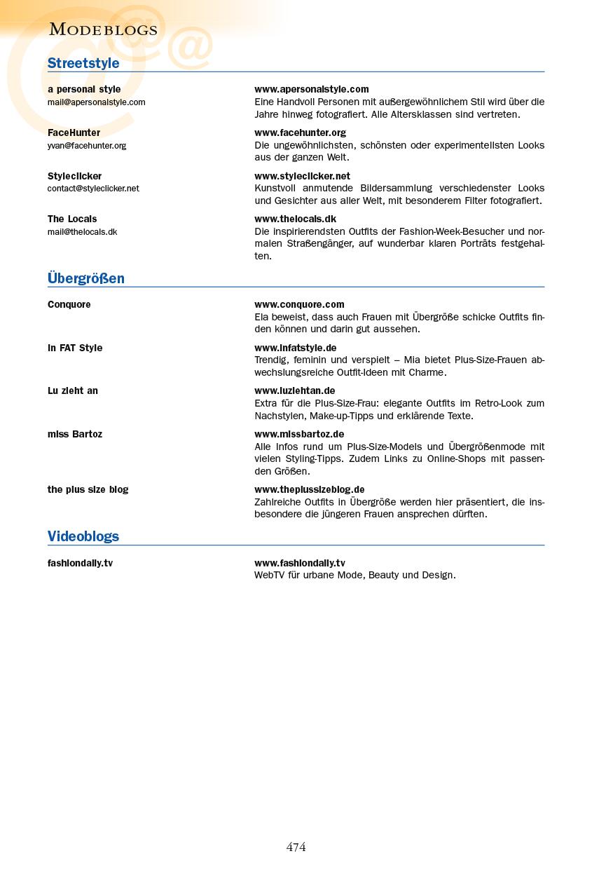 Modeblogs - Seite 474