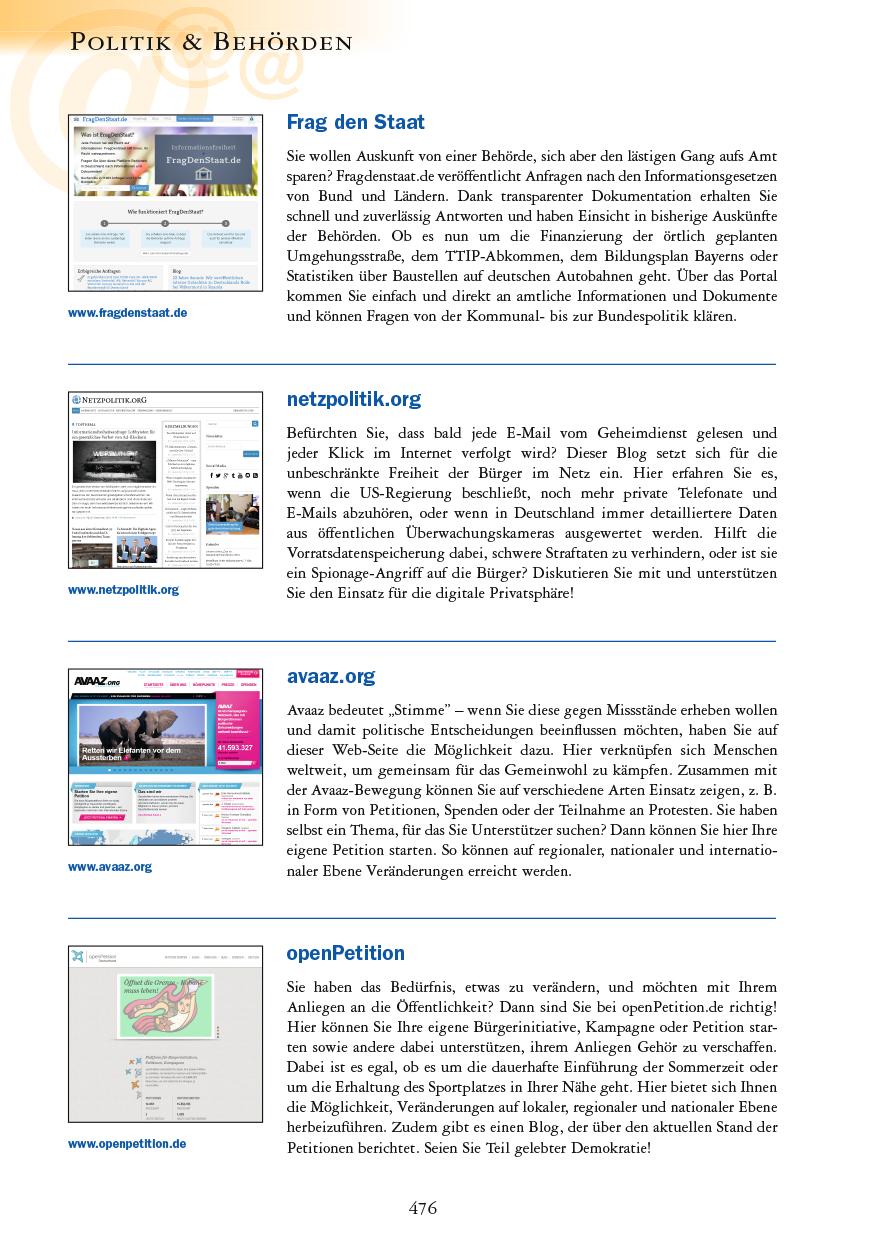 Politik & Behörden - Seite 476