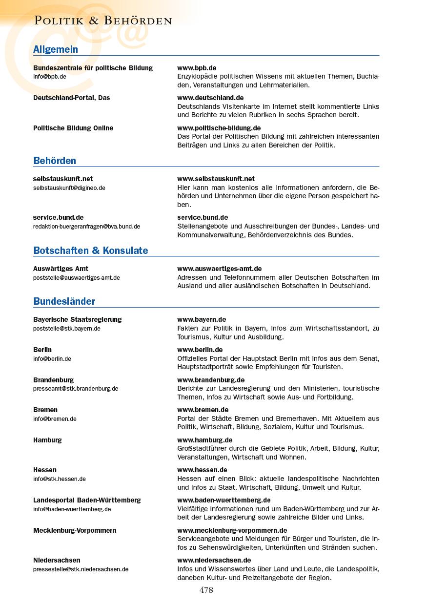 Politik & Behörden - Seite 478