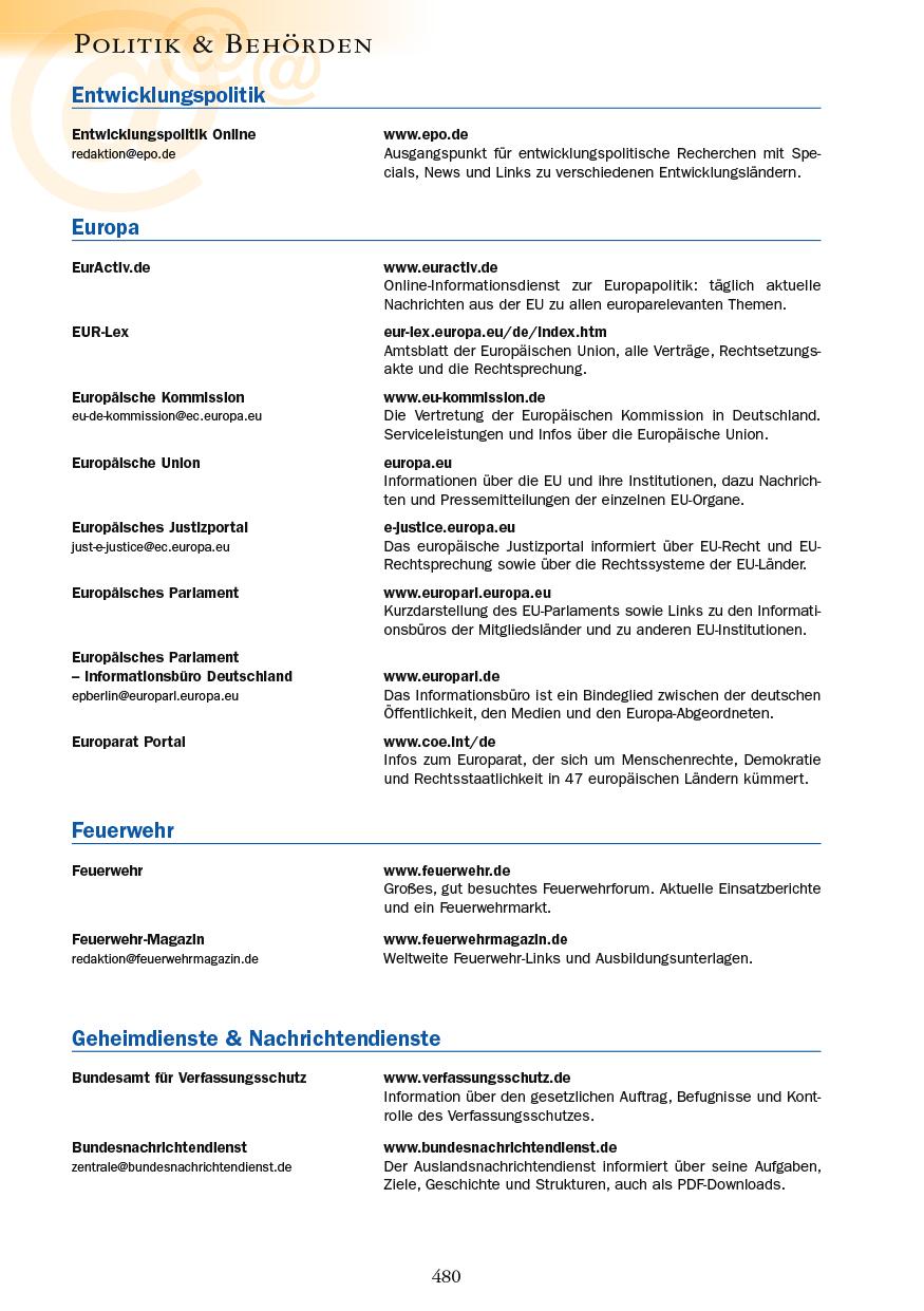 Politik & Behörden - Seite 480